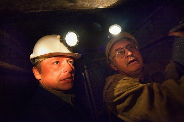 jáchymov, důl svornost, ing jiří pihera